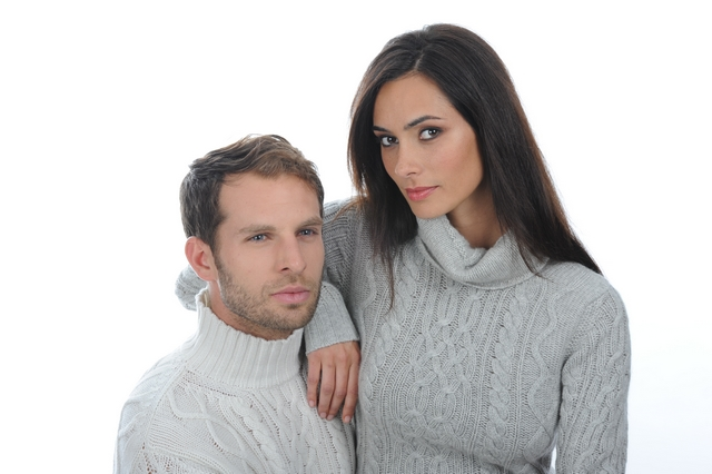 Dvojice v kašmírových svetrech Felipe